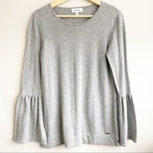 Calvin Klein Flare Sleeves Sweater